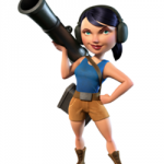 Zooka in Boom Beach