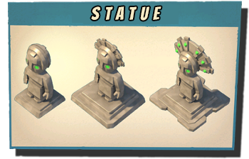 statue boom beach