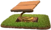 trappola a scatto clash of clans