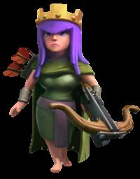 regina degli arcieri