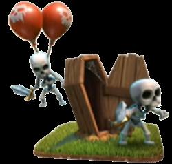 trappola scheletri