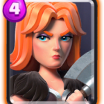 Valchiria in Clash Royale