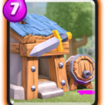 Capanna barbari in Clash Royale