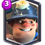 Minatore in Clash Royale