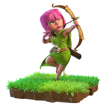 Arciere in Clash of Clans