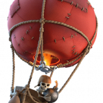 Mongolfiera in Clash of Clans