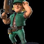 Sergente Brick su Boom Beach