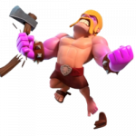 Barbaro Furioso in Base del Costruttore di Clash of Clans