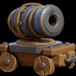 Cannone a rotelle in Base del Costruttore di Clash of Clans