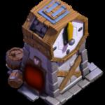 Torre dell'orologio in Base del Costruttore di Clash of Clans