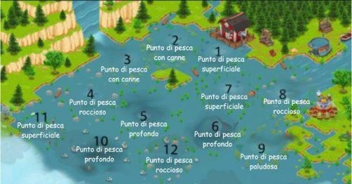 Zone pesca lago