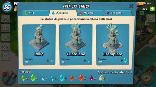Statua ghiaccio
