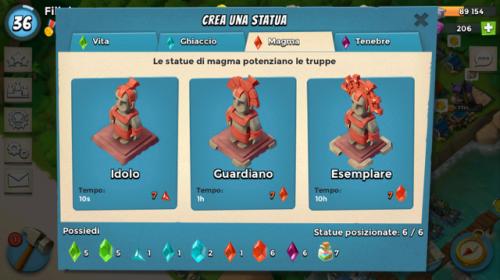 Statua magma
