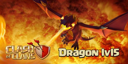 aggiornamento drago clash of clans