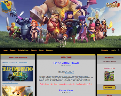 creare sito clan