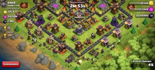 Queen Walk Clash of Clans