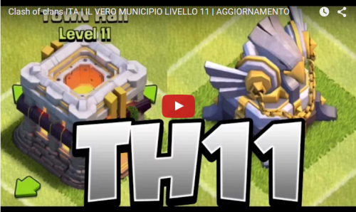 aggiornamento clash of clans th11