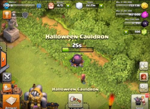 calderone aggiornamento Halloween 2015