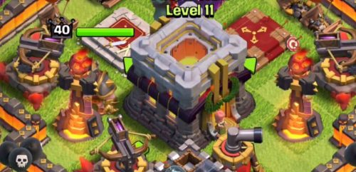aggiornamento clash of clans 2015 th11