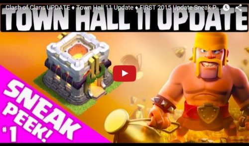 sneak peek scudo aggiornamento clash of clans