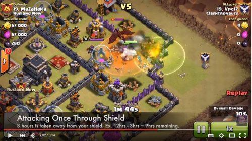 sneak peek scudo clash of clans dicembre 2015