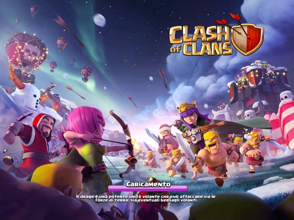 Download Clash of Clans Dicembre 2015 IPA