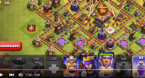 nuovo eroe clash of clans gran sorvegliante video