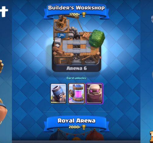 nuova arena clash royale marzo 2016 2
