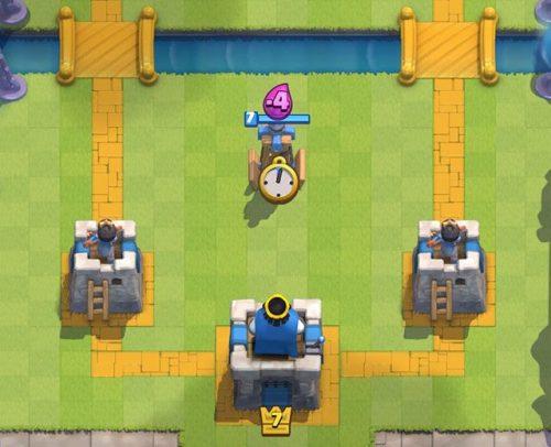 inizio battaglia clash royale
