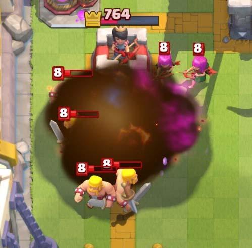 sfera infuocata clash royale