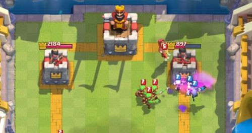 torre del re clash royale