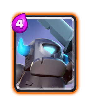 Mini PEKKA clash royale