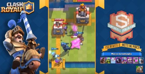 Nuovo deck arena 6 pekka estrattore supercell italia fan for Deck pekka arene 6
