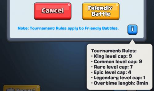 nuove regole aggiornamento clash royale