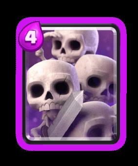 orda di scheletri clash royale