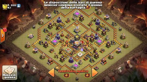anti valchiria clash of clans th11 clan cinese