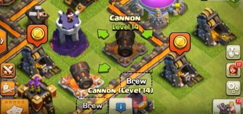 cannone livello 14 clash of clans