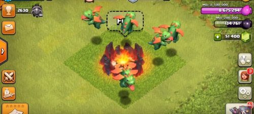 cucciolo di drago clash of clans