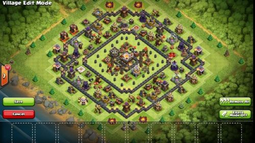 difesa anti valchiria th11 clash of clans
