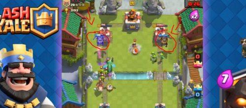due mastini lavici in attacco clash royale