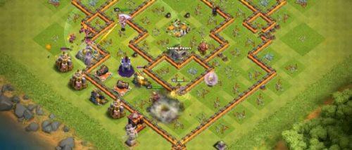 edifici distrutti clash of clans