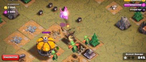 furia cucciolo di drago clash of clans