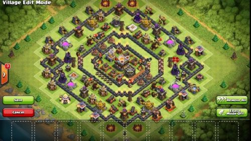 migliori layout anti valchiria clash of calns th11
