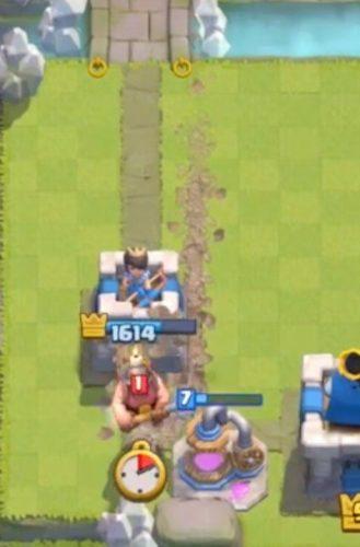 minatore attacco