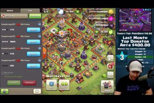 nuova schermata chat clan war