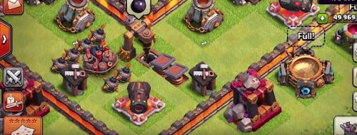 trappola a scatto livello 4 clash of clans