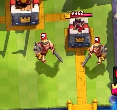 Carte Reali su Clash Royale Re Barbaro