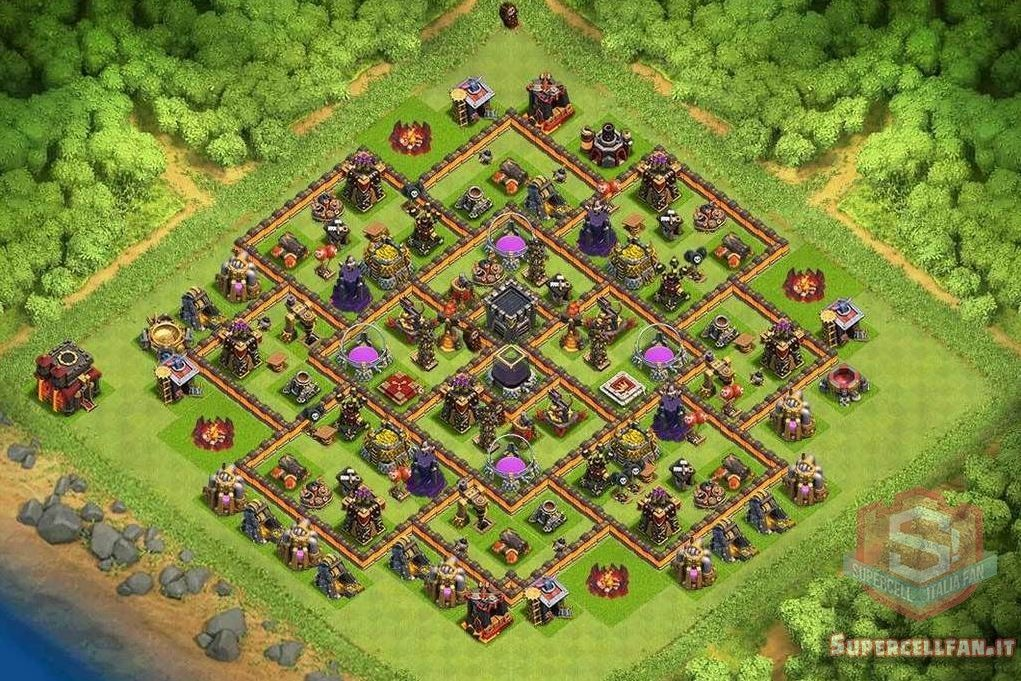 migliori layout farming th10 (1)