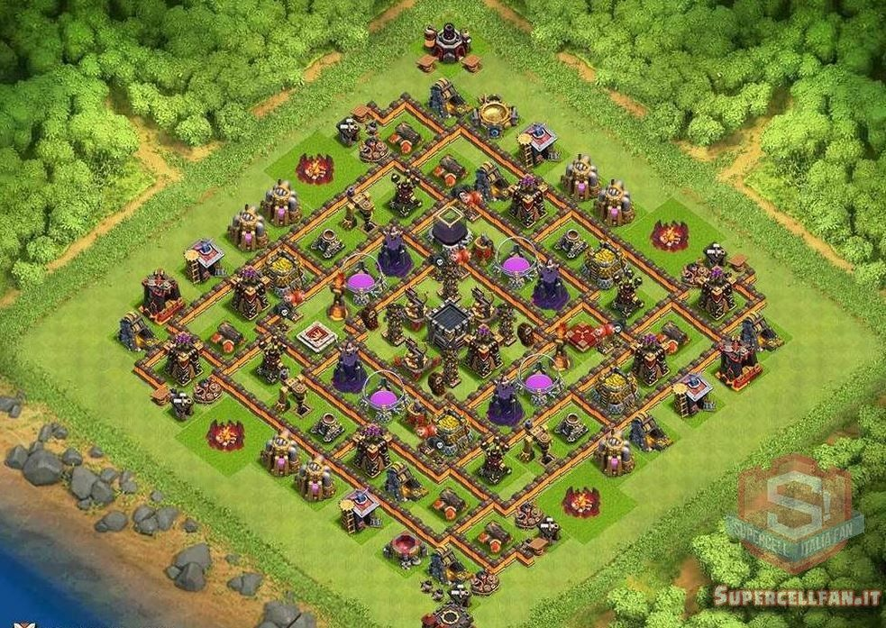 migliori layout farming th10 (11)