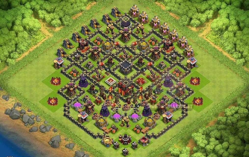 migliori layout farming th10 (18)